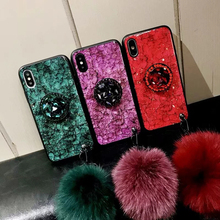 Mate 20 Lite Case on For Coque Huawei p20 pro Back Cover 10 Pro lite hair ball holder