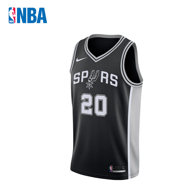 c823e3f11 Original NBA Jerseys Men s San Antonio Spurs NO.20 Manu Ginobili Nike  Swingman Jerseys