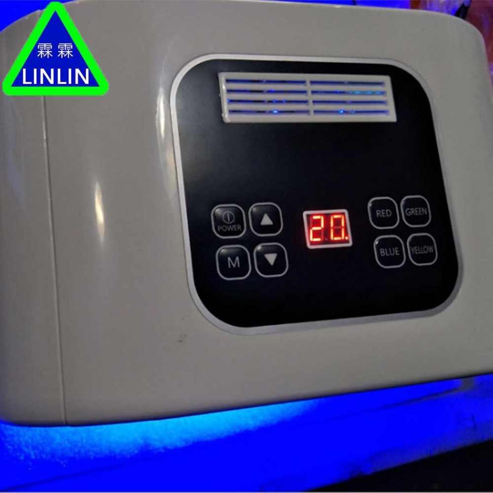 Linlin 10 цветов led-подсветки, спектрометр красный и синий свет для лечения акне Элиминатор прибор для фототерапии омолаживающее бытовой