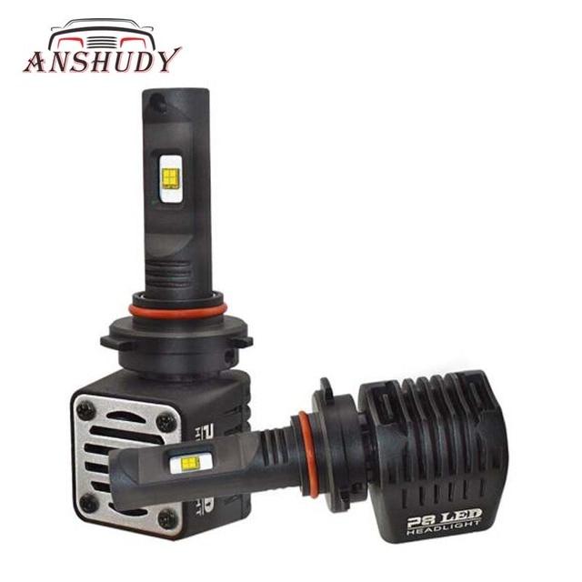 Car H4 H7 LED Headlight H11 9005 9006 H16 80W MZ 12000lm 6000K White PSX24W PSX26W D1/2/3/4 9012 H15  Fog Lamp Auto Bulb
