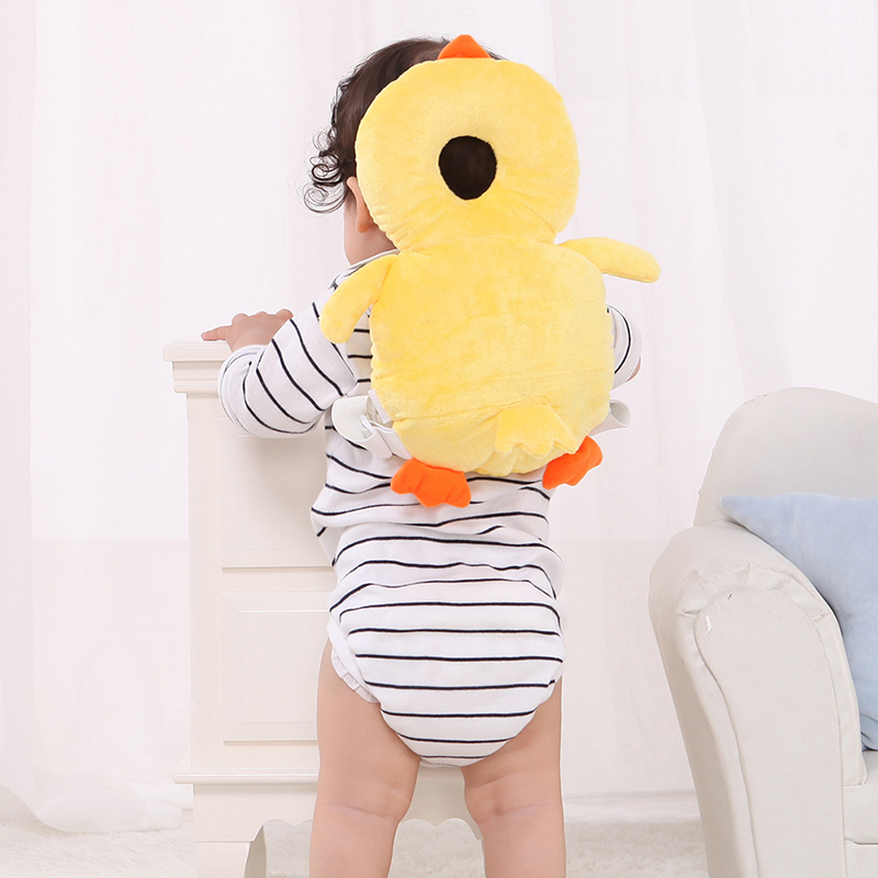 2019 New Animal Pattern Baby Toddlers Head Protective Adjustable Safety Pads For Infant Walkers Head Back Protection