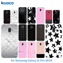 Clear TPU Cases for Samsung Galaxy J2 Pro 2018 / SM-J250F Silicone Colorful Pattern Shell for Galaxy J2 Pro 2018 5.0″ Covers