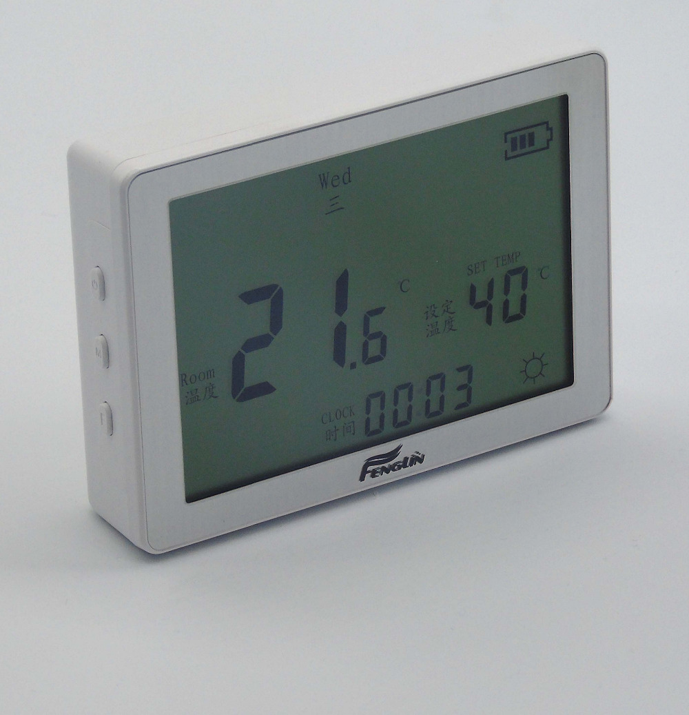 цена на Gas boiler three wire Seven days to edit Programming thermostat for battery powered (HS-B709)