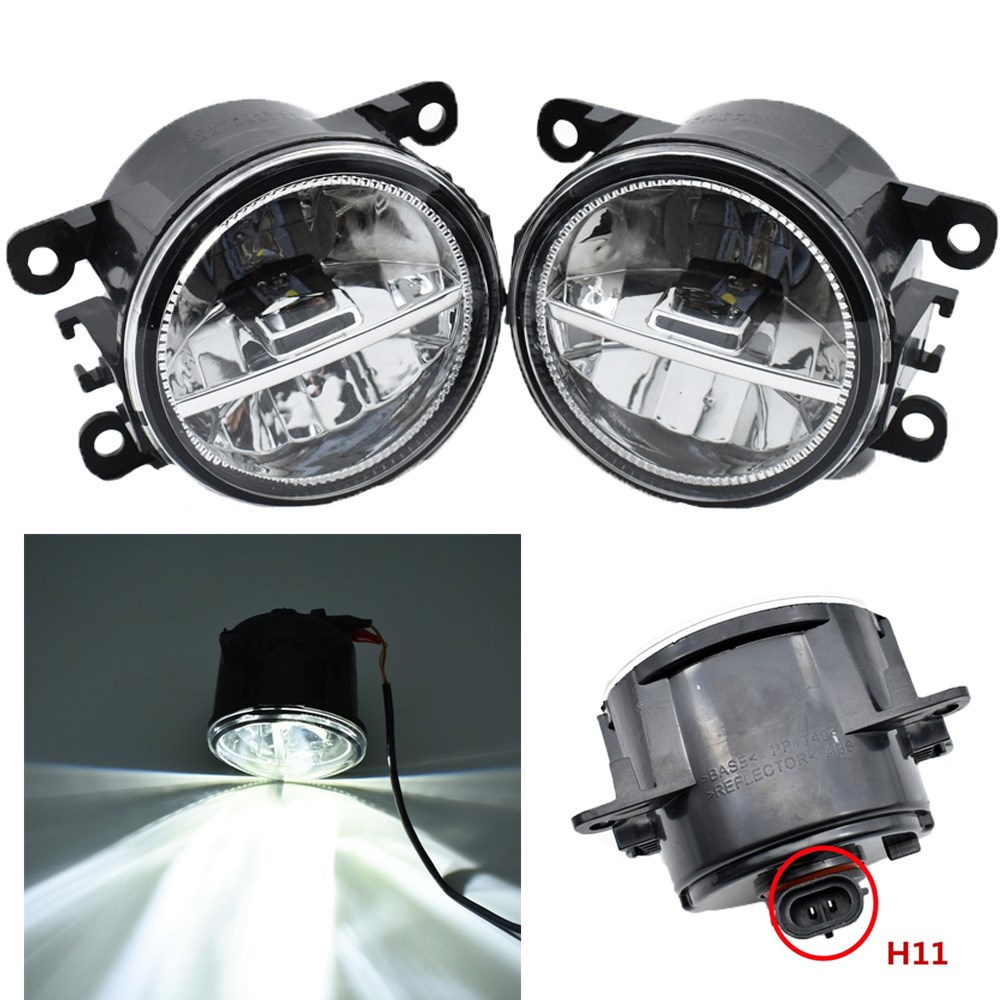 Car Styling Front Halogen Fog Lamps LED Fog Lights For Suzuki Grand Vitara SX4 JIMNY FJ IGNIS II SWIFT SPLASH ALTO 1998-2015 vitara light jimny fog light 2pcs led sx4 daytime light free ship swift fog lamp