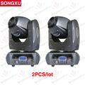SONGXU 2pcs/lot Competitive Price 40W LED Moving Head Light with 3 Facet Prism Gobo LED Spot Moving Head /SX-MH40