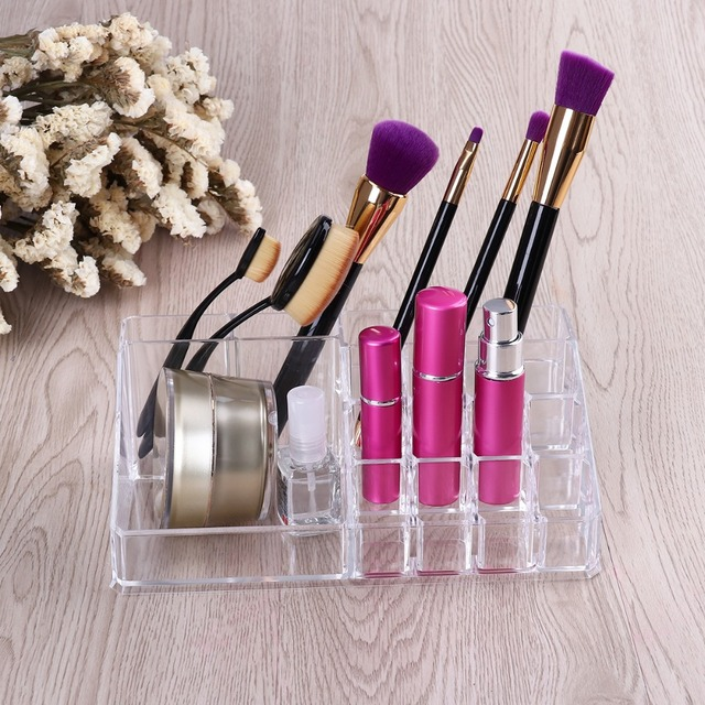 Acrylic Cosmetic box Organizer Makeup Jewelry Storage Lipstick make