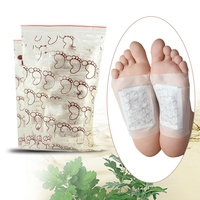 Natural Detox Foot Pads Patch Detoxify Toxins Adhesive Keeping Fit Health Care