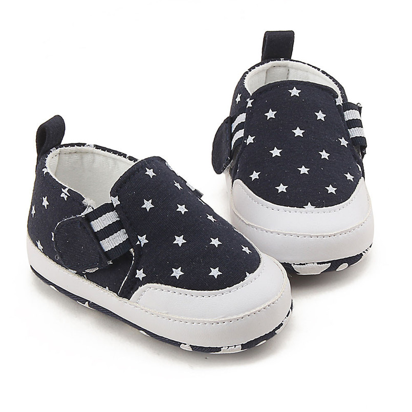 Baby shoes 2019 new Newborn Infant Baby Girl Boy Print Crib Shoes Soft Sole Anti-slip Sneakers Shoes #4M14 (2)