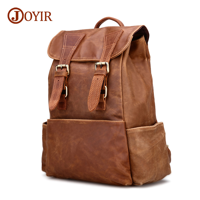 JOYIR Luxury Cow Leather Backpack Brand Retro Women Backpack Genuine Leather Lady Backpacks Sweet Girl School BagsJOYIR Luxury Cow Leather Backpack Brand Retro Women Backpack Genuine Leather Lady Backpacks Sweet Girl School Bags