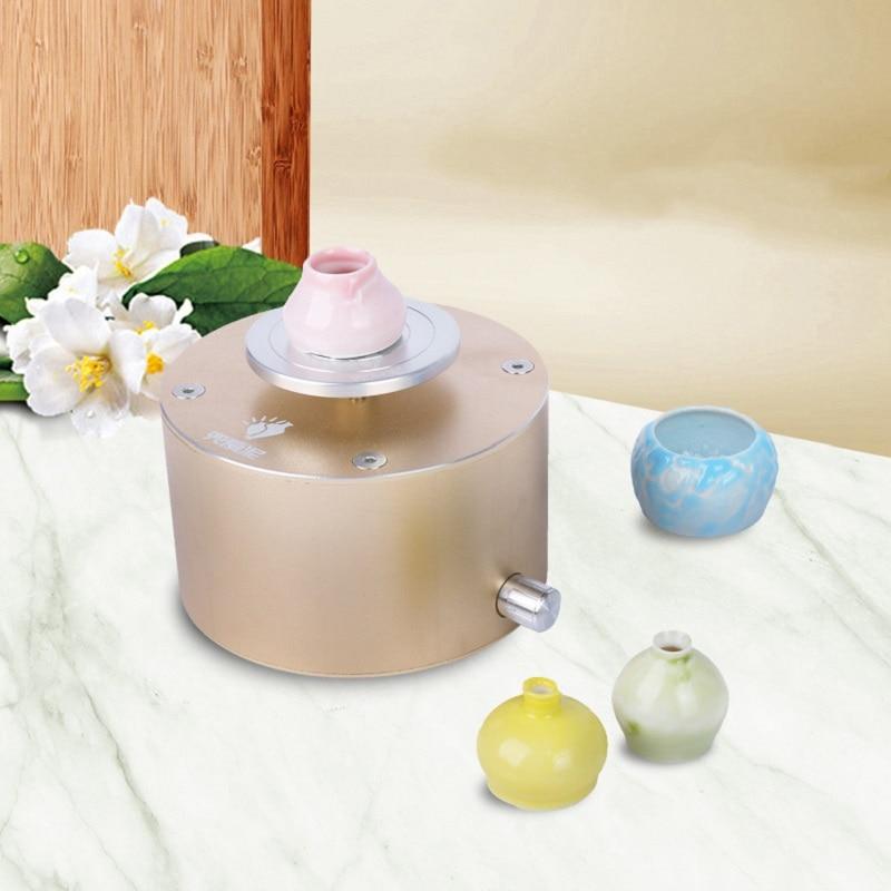 Nouvelle machine de production d'art en céramique bricolage 12 V Mini Machine de lancer en céramique argile faisant la Machine de poterie