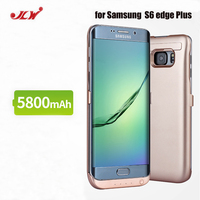 JLW 5800 mAh Pil Şarj Kılıf fr Samsung S6 Kenar Artı harici Klip Pil Yedekleme Şarj Edilebilir Case Kapak fr Galaxy S6 kenar +