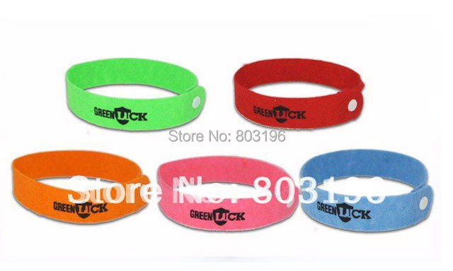 300PCS/Lot Free Shipping GREENLUCK Mosquito repellent bracelet Mosquito repellent band Mosquito Killer