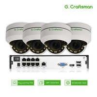 4ch 5MP POE PTZ System Kit H.265 CCTV Sicherheit 8ch NVR Indoor Wasserdichte 2,8-12mm 4X Optische Zoom IP Kamera Überwachung Video