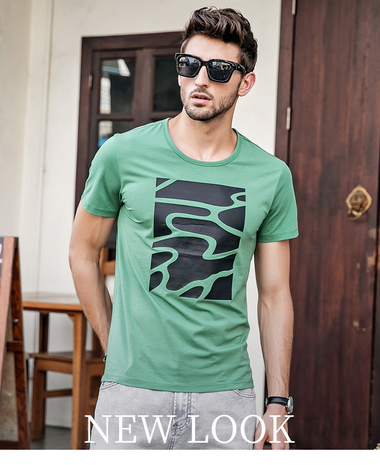 c6c0a290bc0 Mens White Graphic T Shirts Fashion 2018 Summer Style Short Sleeve T ...