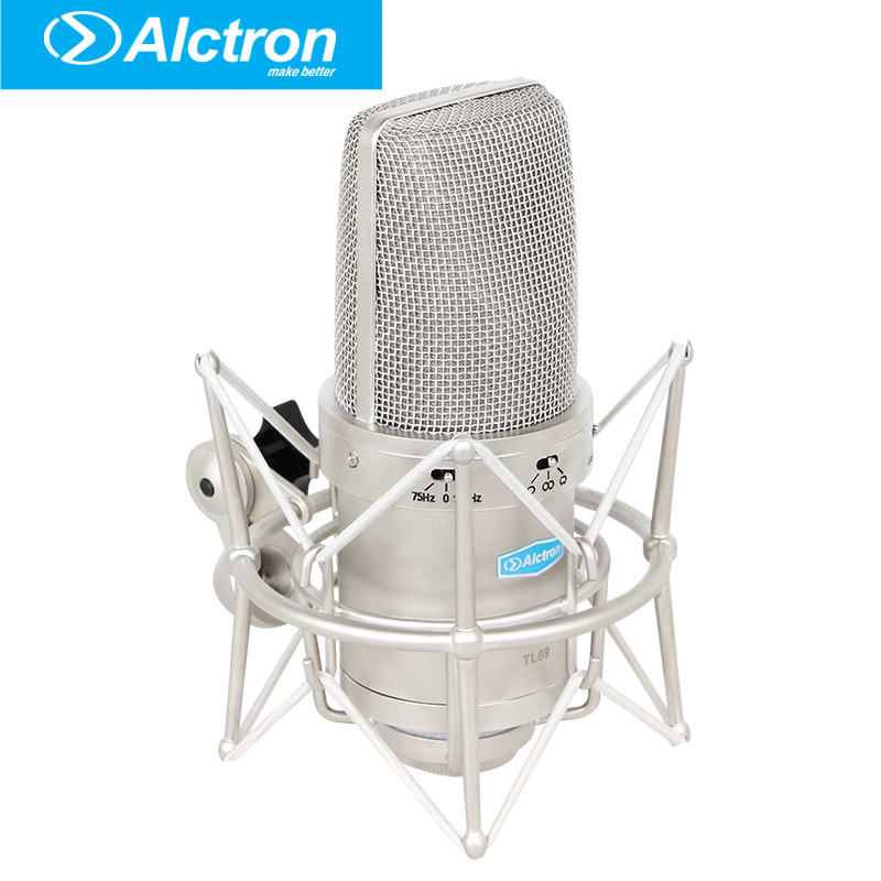 Alctron TL69 Professional Large Diaphragm Multi-Pattern Studio Condenser Recording Microphone,Recording Mic. 2012 2013 recording studio directory