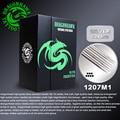 50 unids teje magnum desechables agujas de tatuaje 1207m1 dragonhawk de plata de alto grado estándar agujas tattoo supply