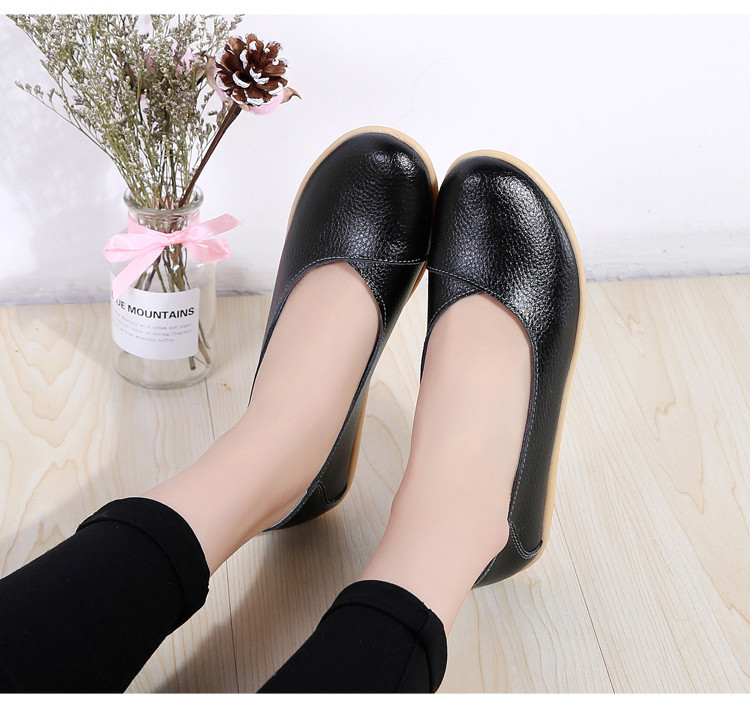 AH 5928-2019 Spring Autumn Woman Flats Casual Women Loafers-12