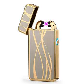 2018 Newest Electronic Usb charging double arc lighter plasma eletronic pulse lighters Chinese dragon shape lighter 4