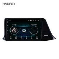 Harfey 2Din GPS Nav Car Radio WIFI Audio Android 8.1 9 car Multimedia Player Head Unit For 2016 2017 2018 Toyota C HR LHD