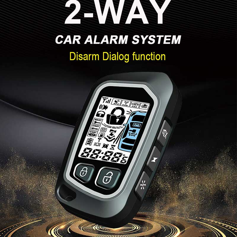 Two-Way Anti-Theft Device Keyless Entry Application For All 12V Car Remote Start Car Alarm system Output Central Unlock/LockingTwo-Way Anti-Theft Device Keyless Entry Application For All 12V Car Remote Start Car Alarm system Output Central Unlock/Locking