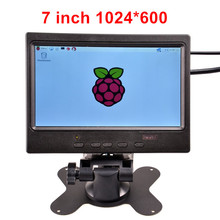 7 inch TFT HDMI Display LCD Color Monitor 1024*600 Screen for Raspberry Pi 3 / 2 Model B / B+ / PC Win 7 8 10