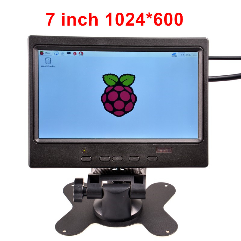 7 inch TFT HDMI Display LCD Color Monitor 1024*600 for Raspberry Pi 3 / 2 Model B / B+ / PC