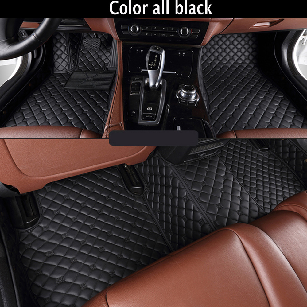 Special make car floor mats for Audi A8 L A8L 5D foot case all weather car styling rugs custom perfect carpet liners   Special make car floor mats for Audi A8 L A8L 5D foot case all weather car styling rugs custom perfect carpet liners