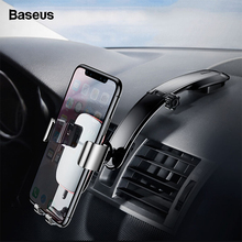 Baseus Universal Car Phone Holder For iPhone X 8 7 Samsung S9 S8 Xiaom