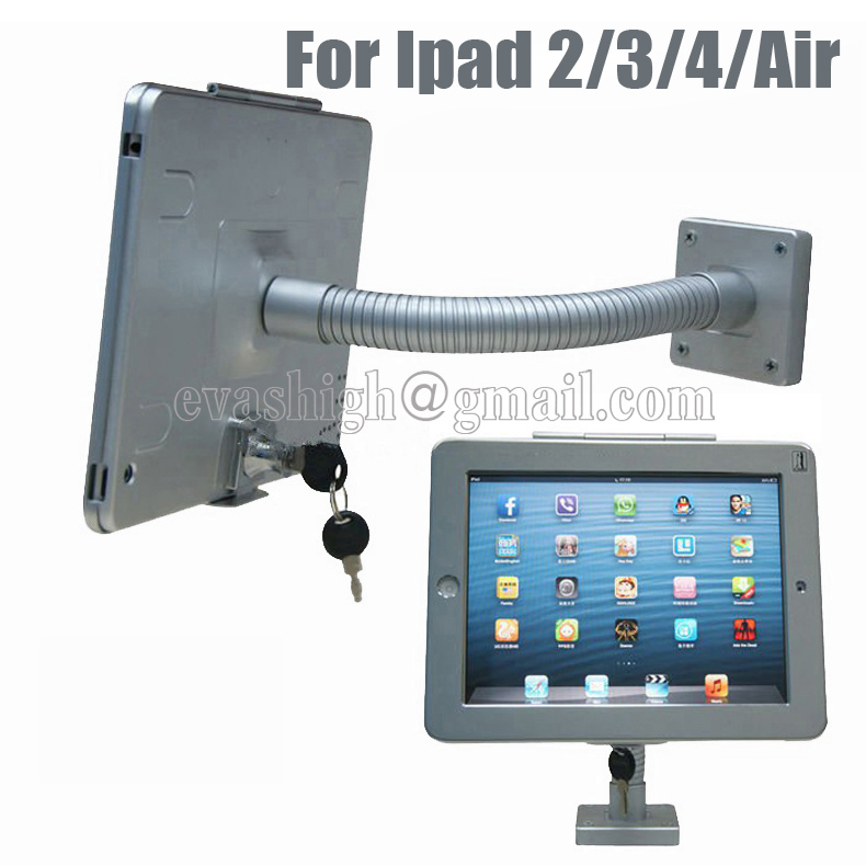 Tablet  wall display mount stand desktop security protection kit lock holder metal case anti-theft for retail iPad2/3/4/air led flashlight torch 10 x cree xm l t6 10000lm led lamp wide range light with rechargeable 4 18650 4000mah battery and charger