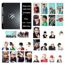 YANZIXG KPOP MONSTA X Album Self Made Paper Lomo Card Photo Card Poster HD Photocard Fans Gift Collection(China)