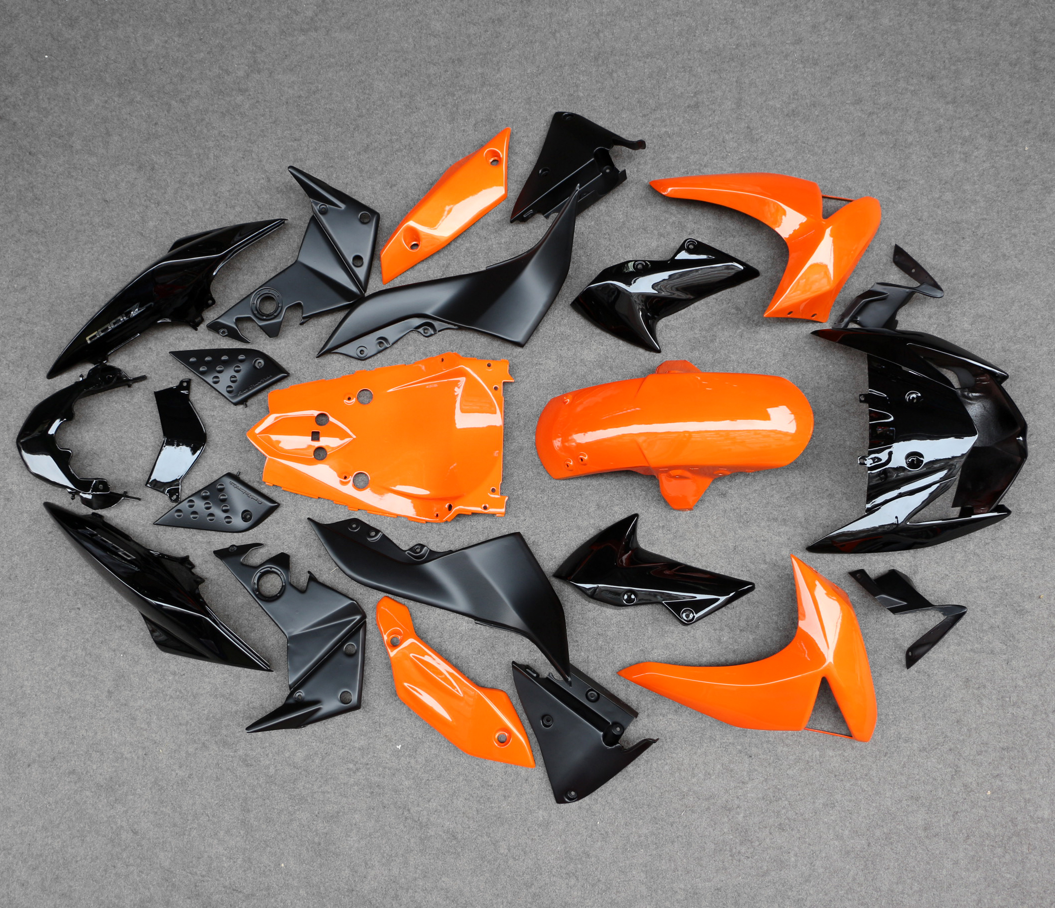 New Motorcycle Fairing Bodywork Panel Kit Set For Kawasaki Z1000 2007-2009 2008