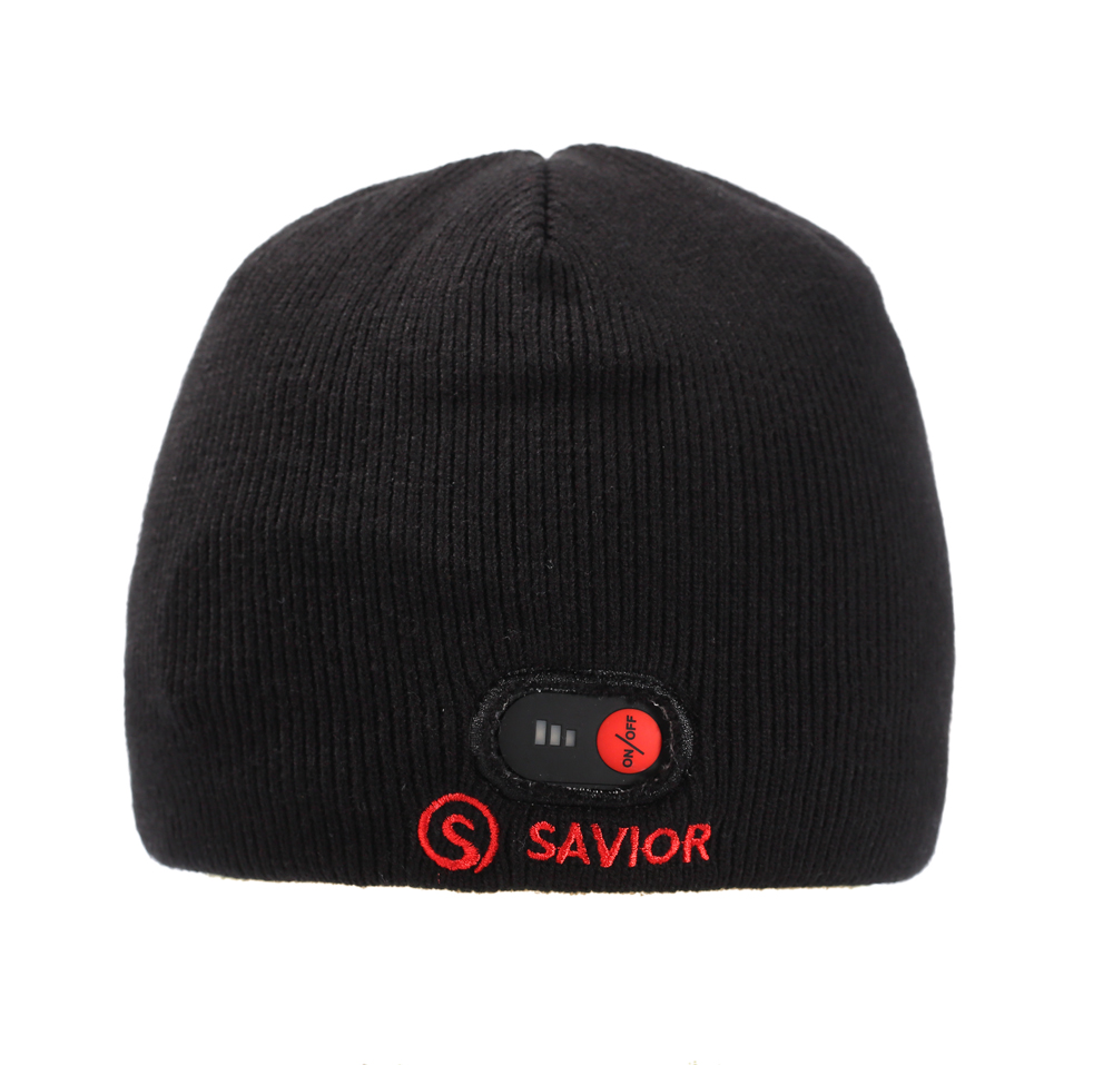 Savior battery hat for winter outdoor sports keep warm heat therapy quick heating head protect 3 levels control unisex gift Hot bluetooth beanie hat and touchscreen gloves knitted bluetooth music hat built in stereo speakers winter hat for outdoor sports