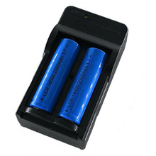 CD 2x 2000mAh 14500 Bicycle Lights Rechargeable Li-ion Battery For LED Flashlight+CR123A Charger