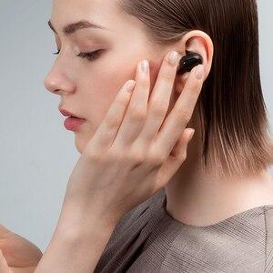 Image 5 - Xiaomi Redmi AirDots S Earbuds Earphone Bluetooth Headset 5.0 TWS Wireless Stereo SBC Cute Mini Light Earphone Auto Charging box