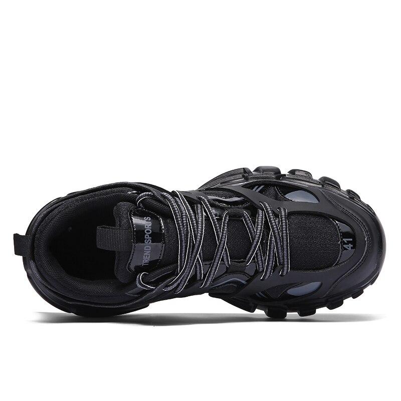 Tenis Formateurs Homme À La Sneakers Respirant Grande 2019 Pour Adulte blanc Printemps Taille Mode orange Designer Casual Chaussures Hommes Mâle Noir wqPzvxF