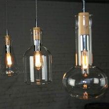 AC110-220V luminaria креативный дизайн дерево подвеска свет лампы кухня бар столовая ресторан lampade парет домашнего освещения