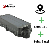 TK10SSE 10000mAh Rechargeable Removable Battery Solar Powered GPS Tracker GSM GPRS SMS SOS Tracking Device Locator