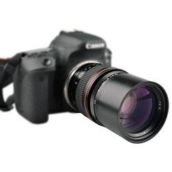 Телеобъектив Lighdow 135 мм F2.8 для зеркальных камер Canon EOS 1300D 6D 6DII 7DII 77D 760D 800D 60D 70D 80D 5DIV 5diii Nikon