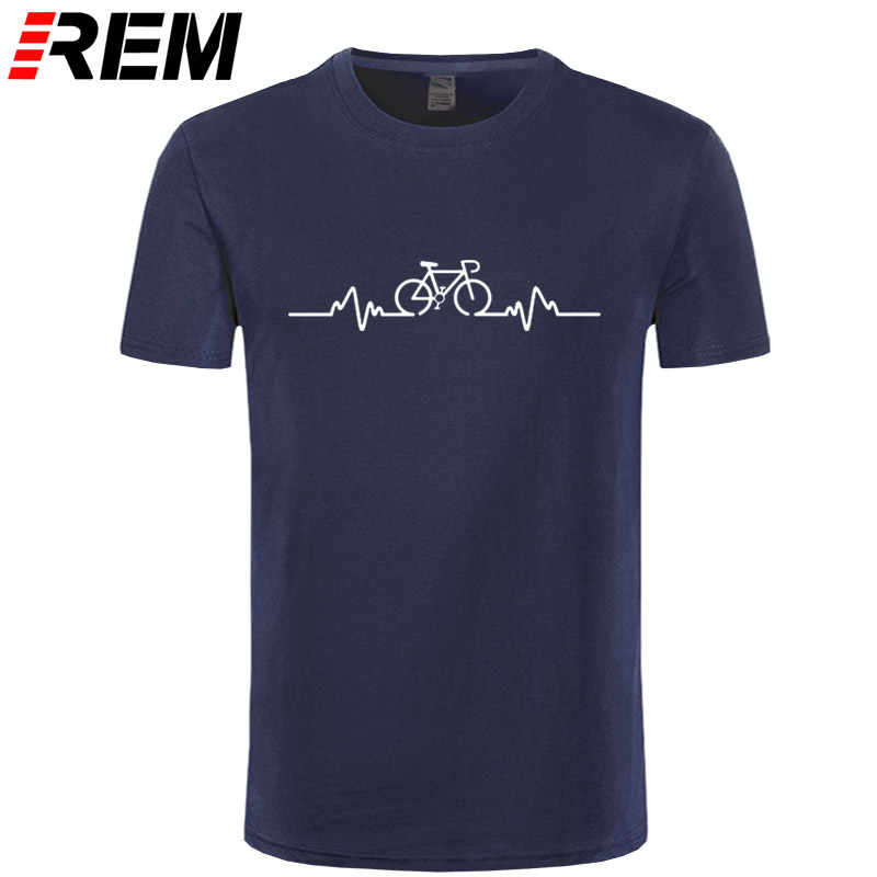 Biker Pulse T-SHIRT Tee Cyclinger Bicycle Riding Medic Doctor Funny Gift Birthday Clothing T Shirt Funny T-Shirt Men
