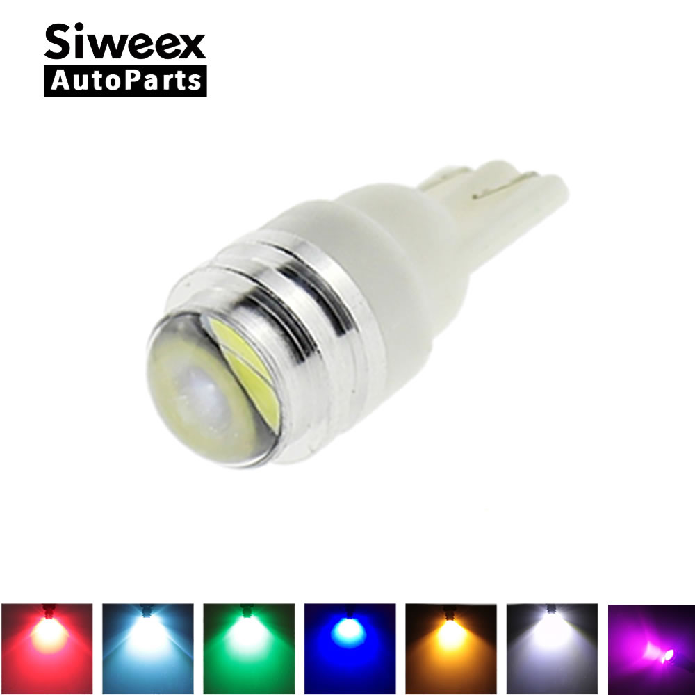 T10 2 SMD 5730 Car LED w5w License Plate Side Marker Door Lamp White Blue Ice Blue Red Green Yellow Pink Lights Bulbs DC 12V t10 2 5w 250lm 560 590nm smd 5050 13 leds yellow led car instrument light door lamp trunk lamp dc 12v