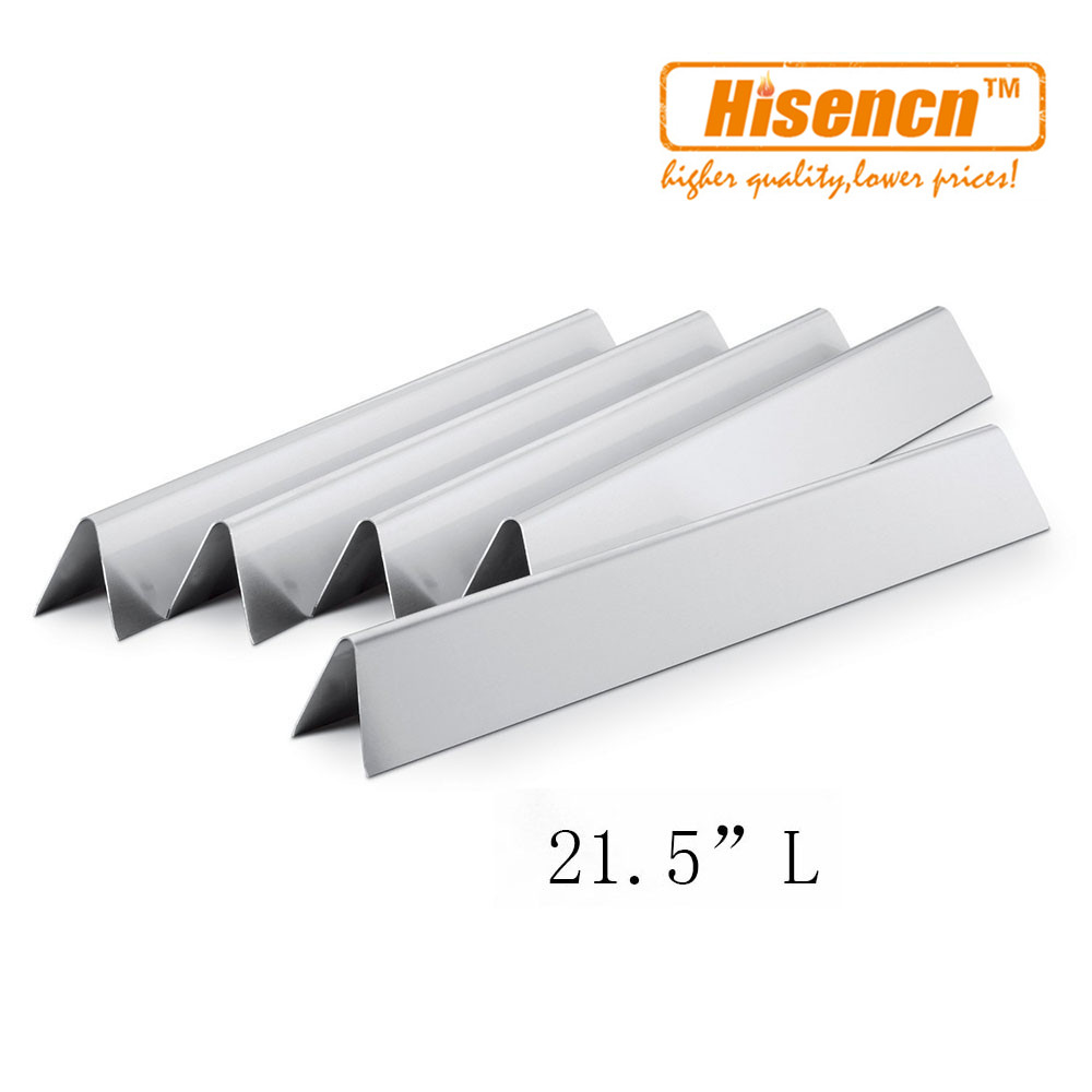 Hisencn 7534 7535 5pcs/pk 21.2 inch SS Flavorizer Bars Replacement Heat Plate For E-210, Genesis Silver A & Spirit 500 Gas GrillHisencn 7534 7535 5pcs/pk 21.2 inch SS Flavorizer Bars Replacement Heat Plate For E-210, Genesis Silver A & Spirit 500 Gas Grill