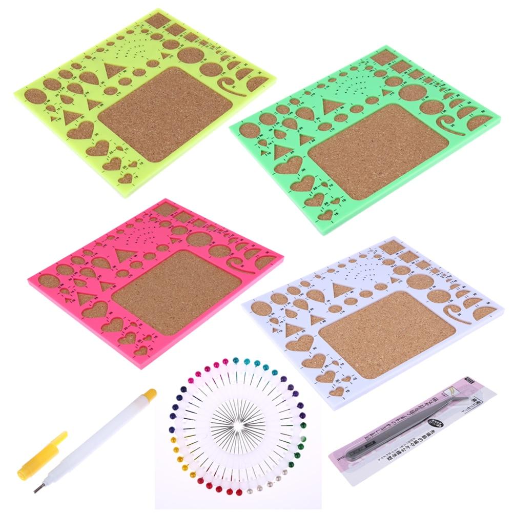 4pcs Starter Diy Tool Paper Quilling Rolling Tools Kit