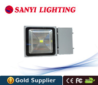 Free Shipping 100w Led Floodlight High Power 100w Ip65 Warm White Cool White Construction Building Flood