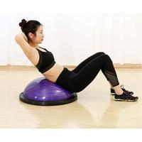 Fitness yoga topu anti-patlama Anyi kaymaz Yarım Topu Spor Salonu vücut geliştirme egzersizi Denge Topu