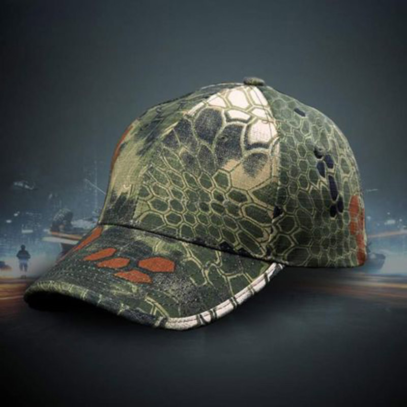 04f85a442ff5a Hot Men s Army Camo Patrol Hat Adjustable Cap Field camouflage Caps 1pc  Free Shipping Hot