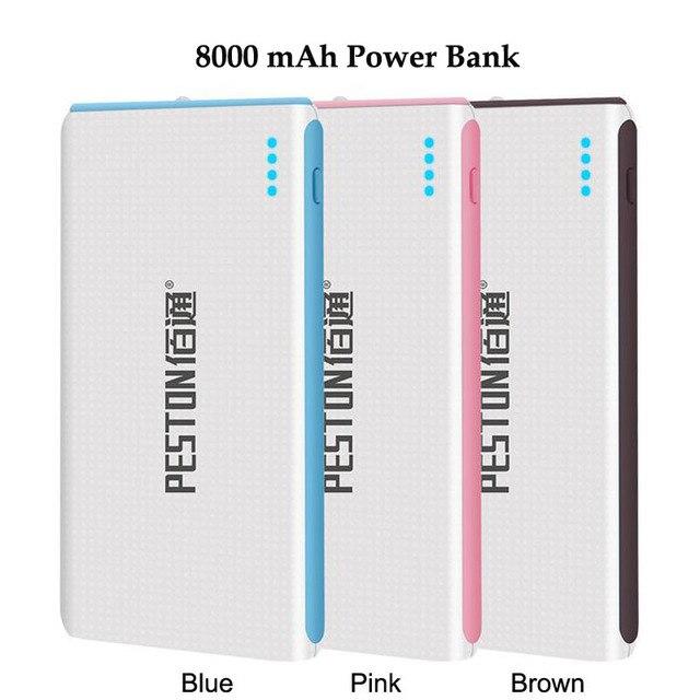 Kailiya Технологии Внешний 8000 мАч Power Bank Для iphone 5/5s/6/6 S/Samsung/Xiaomi/Huawei/HTC/LG/Таблетки Мобильные Батареи зарядное устройство