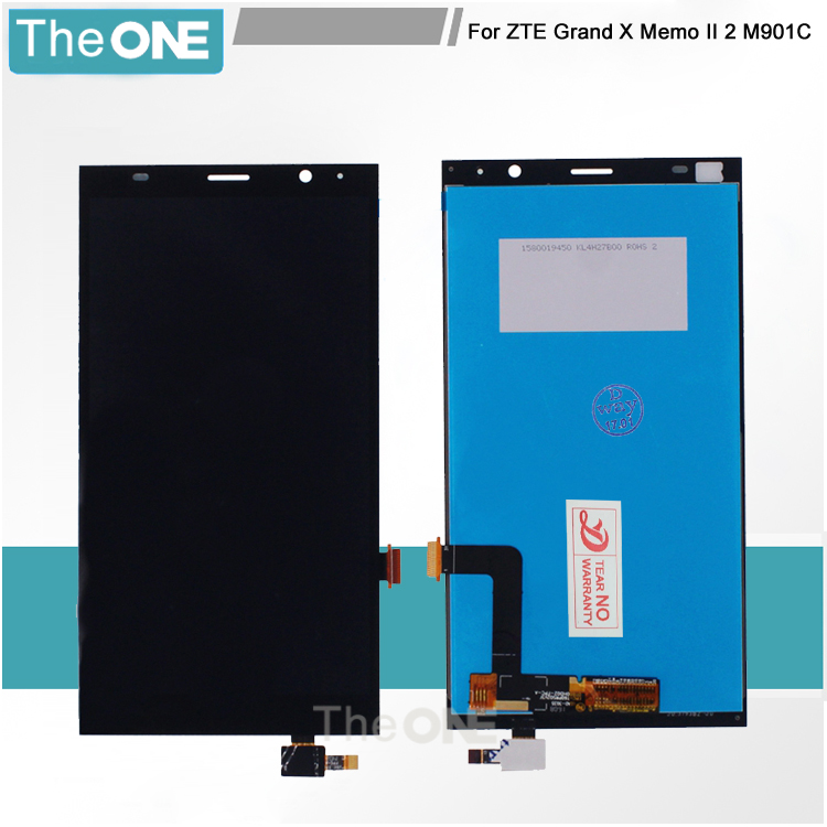 6 ''pantalla lcd touch screen reemplazo digitalizador para zte grand x memo ii 2