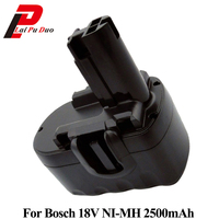 Ni MH Replacement Power Tool Battery 2.5Ah 18V for Bosch:2607335266,PSB18VE 2,2607335536,1644,BAT026,1659RK,2607335688