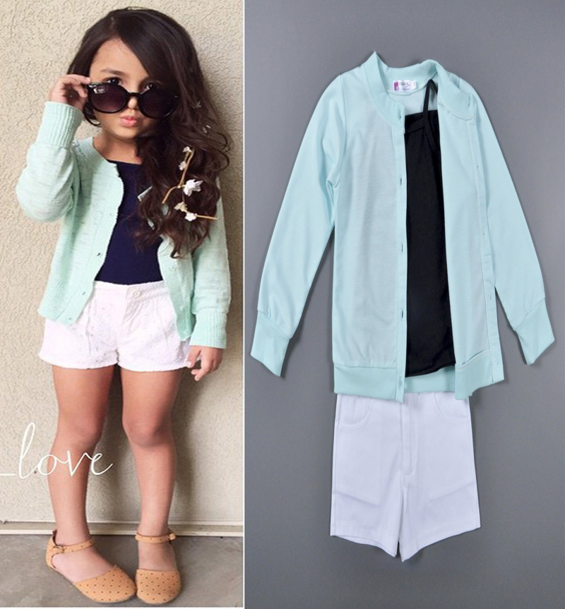 2 6 years old girl suit spring autumn style brand new