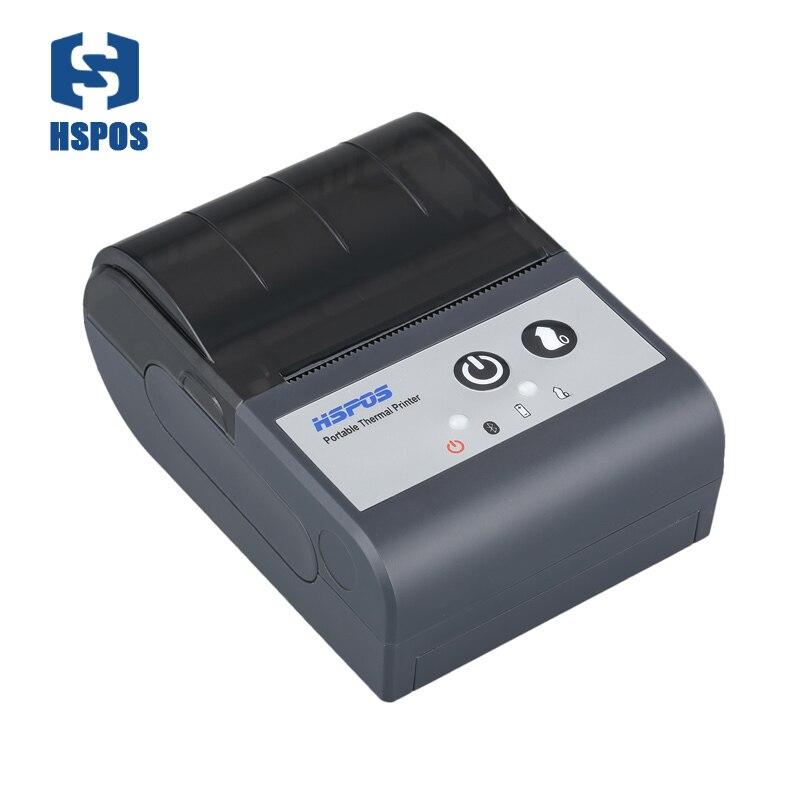 Мини 58 тепловой портативный принтер usb порт <font><b>Bluetooth</b></font> Билл Поддержка печати 1D 2D штрих-кода qr с батареей <font><b>impressora</b></font> pos-продвижение